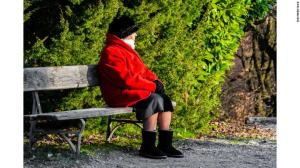 Grandma at the park; Shutterstock ID 595954499; Job: -